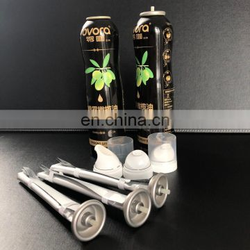 Full set aluminum spray bottle for automatic cooking oil spray