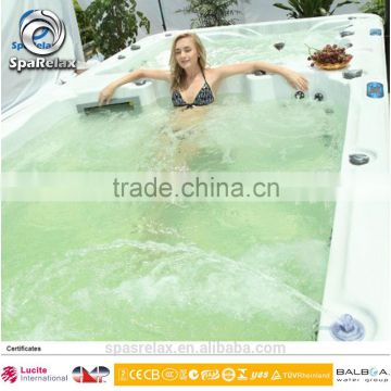 Modern Europe Style freestanding sex massage swim spa pool- CE SAA KC Gost-R proof big luxury indoor tubs