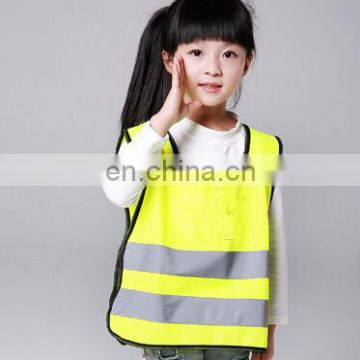 High Visibility Custom Various Design Kids Reflective Safety Vest