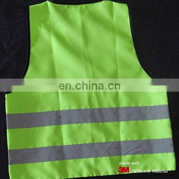Hi Vis Children outdoors reflective safety vest with EN1150 standard