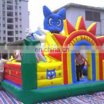 inflatable city for kids, outdoor playground, inflatables FN026