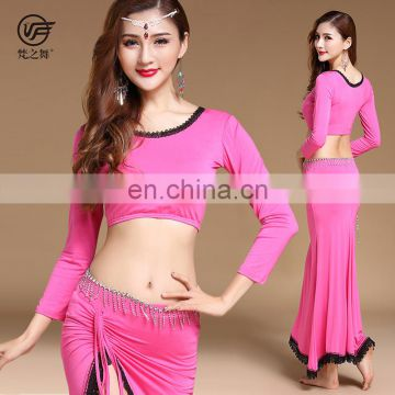 T-5196 Professional modal belly dance costume for practice