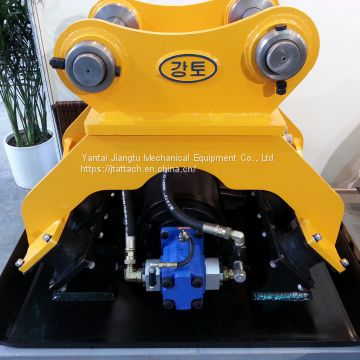 Hydraulic Vibrating Plate Compactor Digger Attachment