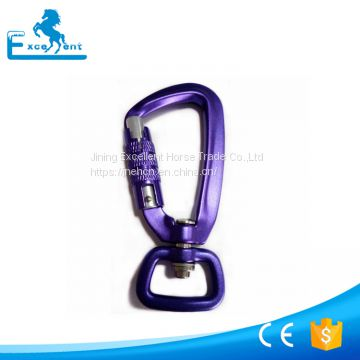 Aluminum Swivel Carabiner for dog leashes