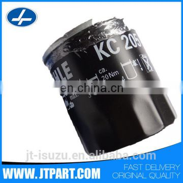 KC205 for 4JA1 /4JB1genuine auto part types of fuel filter
