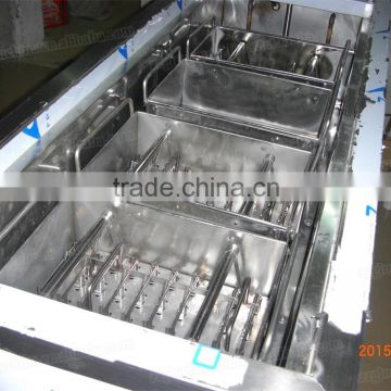 SS Stainless Steel With 4 Moulds Popsicle Machine, Ice Sticker Machine