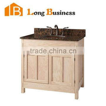 Solid Wood Bathroom Vanity Base Cabinet