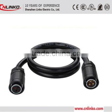 Wholesale Waterproof Male And Female Push Pull Connector For Audio Industrial Equipmet