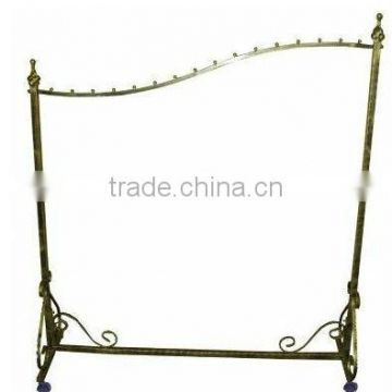 Decorative Singe Bar Clothing Rack