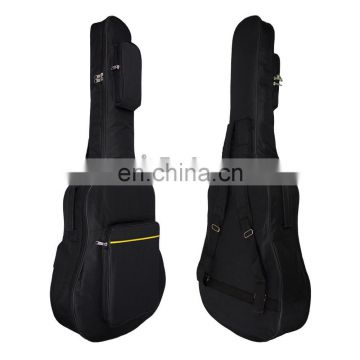 41 Inch Waterproof Guitar Bag Plus Cotton Thicken Yellow Line Package Folk Instrument Cotton Case Shoulder Pouch