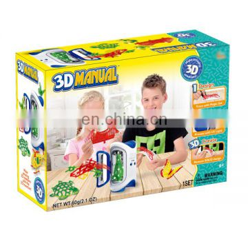 Intellectual toys game play set diy model wholesale 3d printer toy