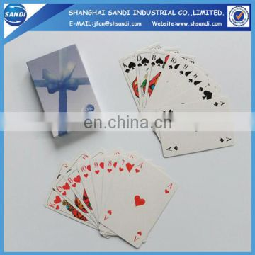 Custom design printed cheap paper game card