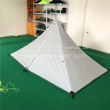 1person 3season Ultralight pyramid Backpacking Tent