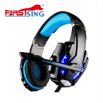 Firstsing Gaming Headset for PS4 PC Xbox One Controller Noise Cancelling Headphones