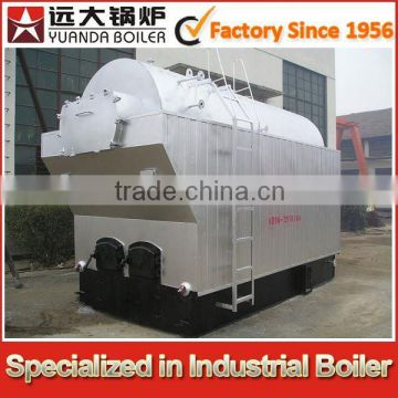 Capacity: 2000kg/h- Pressure working: 0.98 Mpa small wood steam boiler