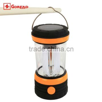 Goread GY01 8 LED plastic sloar power camping lamp