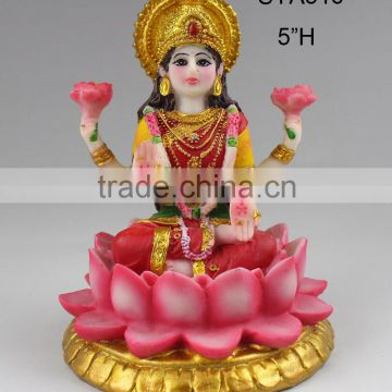 Wholesale Resinic India God Vishnu Laxmi Statues                                                                         Quality Choice