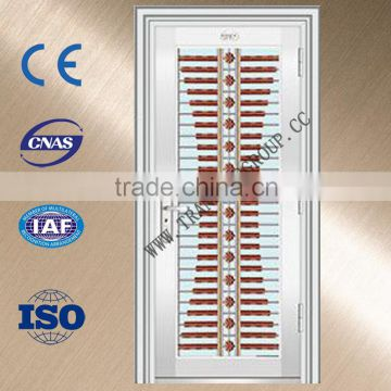 Safety Door Design With Grillstainless Steel Door For Main Door Of