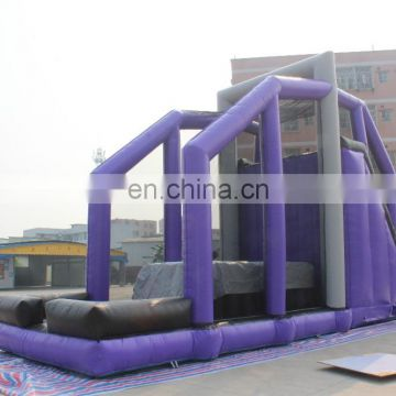 Giant inflatable Jump Off inflatable Cliff Jump inflatable base jump off game for sale