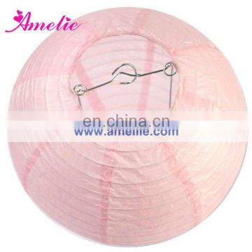 A06PL Light Pink Chinese Paper Lanterns