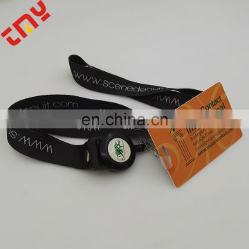 Customized Unique Plastic Badge Reel With Fix Functions From China
