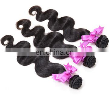 Natural body wave virgin hair bundles