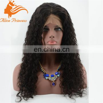 180% density full lace wig jerry curly lace front wigs in miami 8A vigin hair