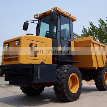 Factory supply 7tons construction site dumper for export