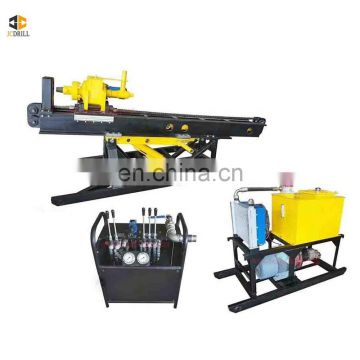 Goog quality soil anchoring earth hole machine mobile engineering rig for drilling