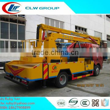12m Overhead Working Truck in 360 degree swim Lifting Arms