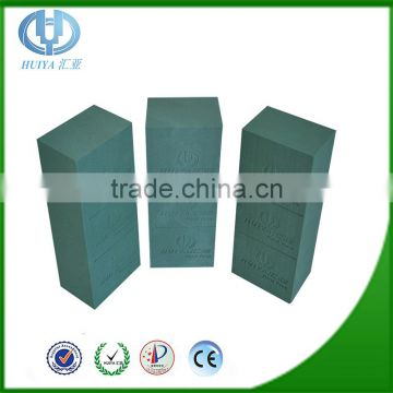 Hebei huiya decorative flowers of wet floral foam and fresh floral foam