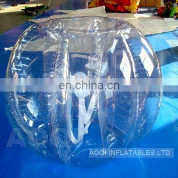 AOQI cheap price inflatable bump ball funny inflatable bumper ball adult body bumper ball for sale