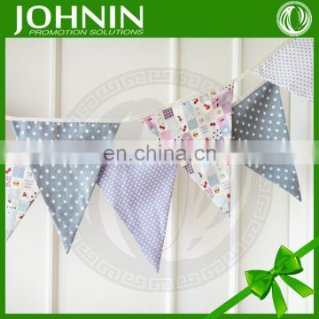 factory sale popular custom party baby bunting flags