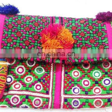 Valentine's Gifts For Your Girlfriend - Vintage Banjara Coin Clutch Bag