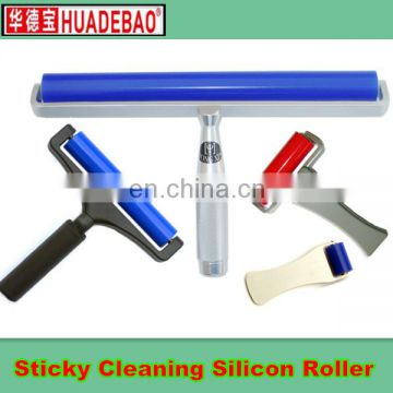 blue cleanroom silicon sticky roller