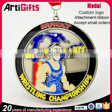 Factory direct sale custom made russia double emblem medal