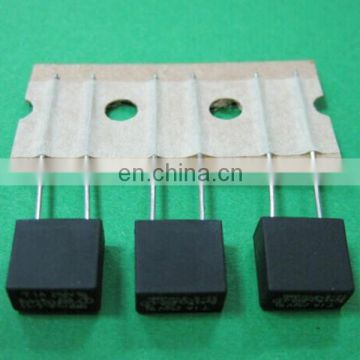 Black Square Type Micro Fuse with UL VDE RoHS Safety Approvals