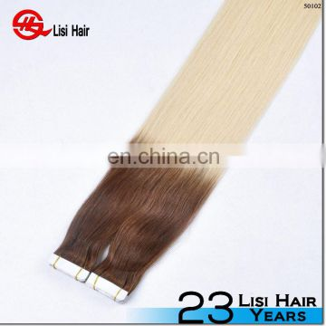 remy softy super sticker 4*1cm wholesale human hair red tape hair extension