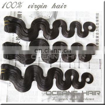 Wholesale soft thick unprocessed body wave hair aliexpress queen hair brazilian hair
