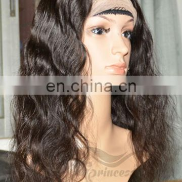 Top quality aaaaa cheap glueless human hair full lace wig