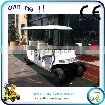 tourism bus 8 seater electric hotel passenger car 48v 4kw AX
