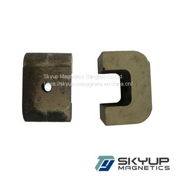 High quality strong AlNiCo5 magnets with small shape for sale