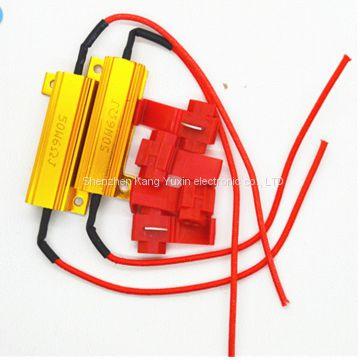 LED car resistor,Power Resistor Small size, big power, no inductance
