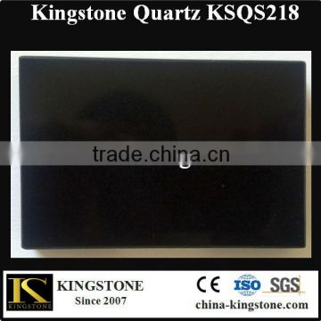 Artificial Absolute Black Quartz Stone for Counter top                                                                         Quality Choice