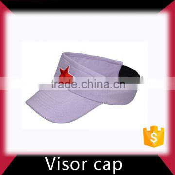 Kids softtextile sun visor hat