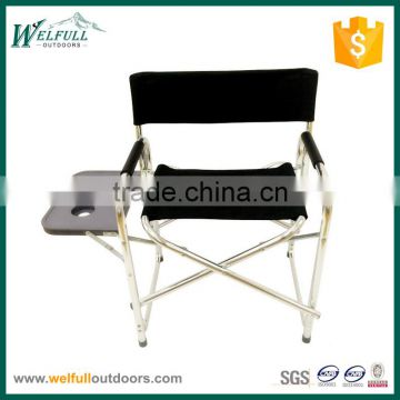 Comfortable relax folding outdoor director polyester chair