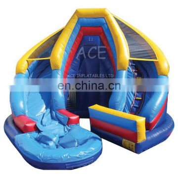 HI EN14960 commericial grade giant factory inflatable water slides china