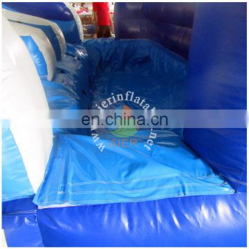 double lanes water slides/ocean theme inflatable water slide for sale
