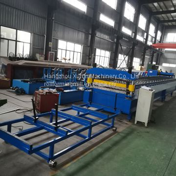 Roof Wall Panel Roll Forming Machine Buy Roll Forming Machine Ibr Roof Panel Trapezoidal Roofing Sheet Roll Forming Line Metal Profile Machines On China Suppliers Mobile 158198612