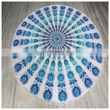 indian tapestry round tapestry fashion yoga mat